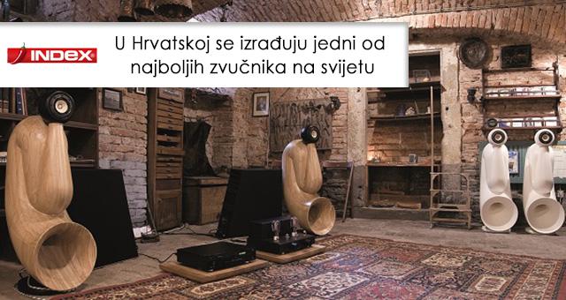 U Hrvatskoj se izrađuju jedni od najboljih zvučnika na svijetu
