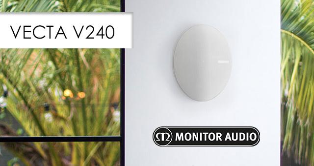 Monitor Audio Vecta V240 – zvučnici za vanjsku i unutarnju uporabu