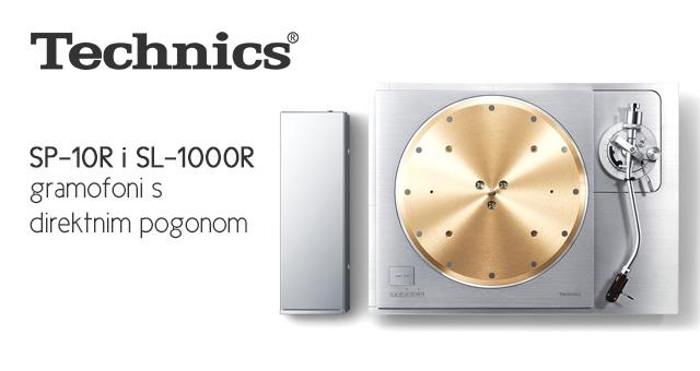 Technics SP-10R i SL-1000R gramofoni s direktnim pogonom