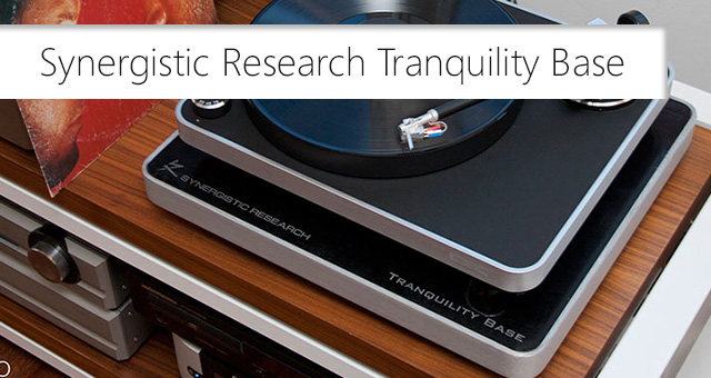 Synergistic Research Tranquility Base