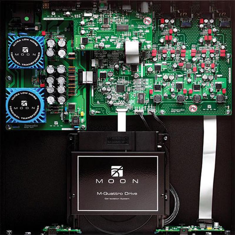 Evolution 650D iznutra