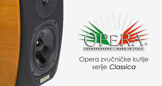 Opera zvučničke kutije serije Classica