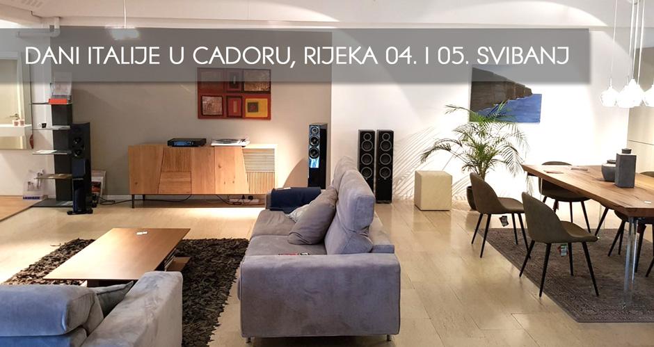 Audiocinema Art prezentacija u Cadoro salonu namještaja