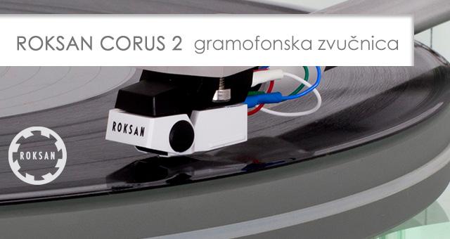 Roksan Corus 2 nova gramofonska zvučnica