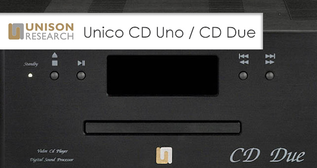 Unison Research reproduktori Unico CD Uno i Unico CD Due