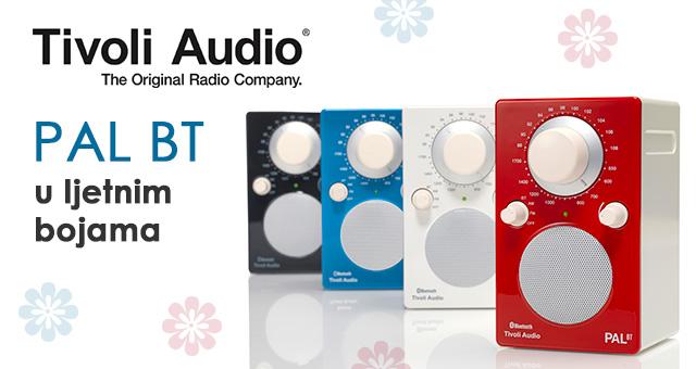 Tivoli Audio PAL BT i PAL+ BT (DAB) u ljetnim bojama
