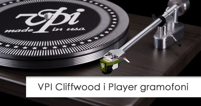 VPI Cliffwood i Player gramofoni