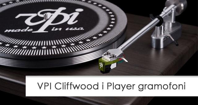 VPI Cliffwood i Player gramofoni