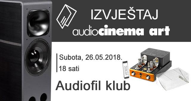 Audiocinema Art AF klub 05.2018. – izvještaj
