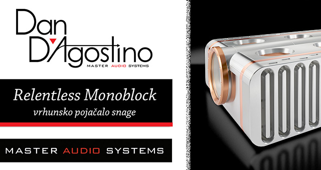 D'Agostino Relentless Monoblock vrhunsko pojačalo snage