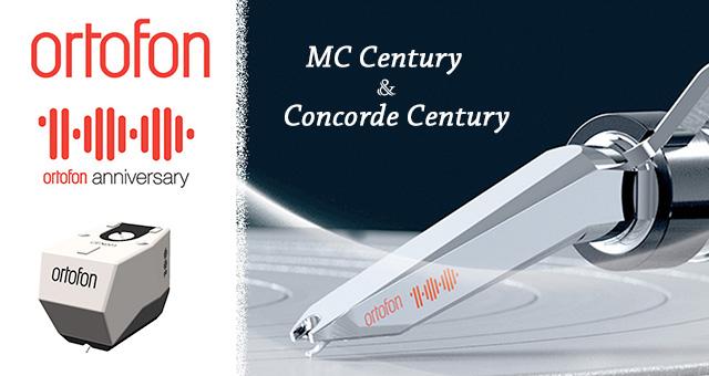 Ortofon MC Century i Concorde Century