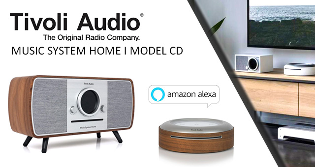 Tivoli Audio – noviteti u ART kolekciji: Model CD i Music System Home/Digital