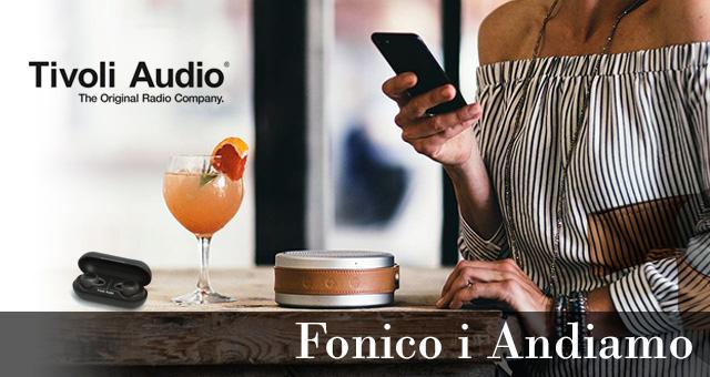Nova Tivoli Go kolekcija – Andiamo zvučnik i Fonico slušalice