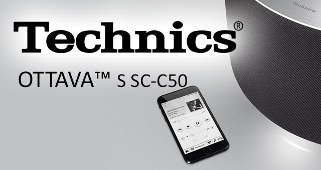 Technics OTTAVA™ S SC-C50 bežični aktivni zvučnik