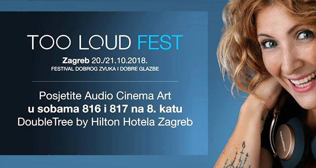 Audiocinema Art na Too Loud Festu od 20. i 21. 10. 2018.