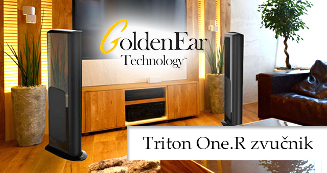 GoldenEar Technology – Triton One.R zvučnik