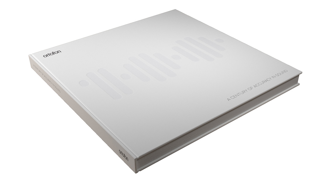 Ortofon 100 year Anniversary book - collector's item