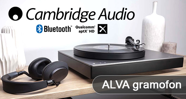 Cambridge Audio Alva gramofon s direktnim pogonom i Bluetooth aptX HD* audio kodekom