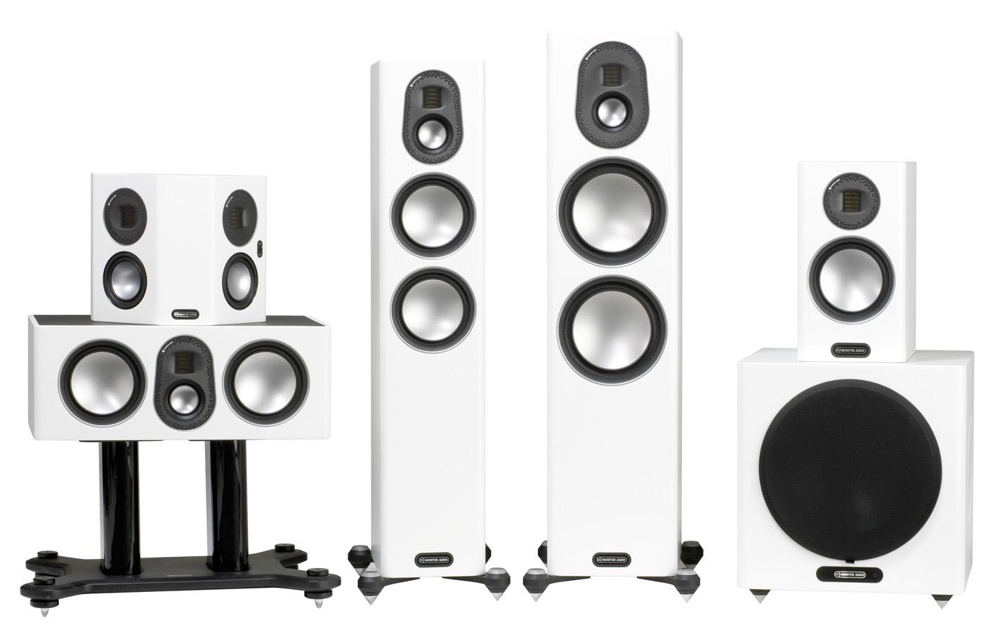 Monitor Audio Gold serija bijeli