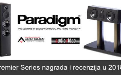 Paradigm Premier Series nagrada i recenzija u 2018.