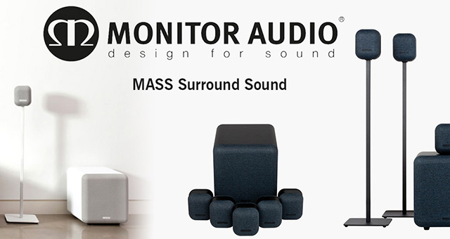 Monitor Audio MASS – druga generacija mini Surround Sound zvučnika za kućno kino