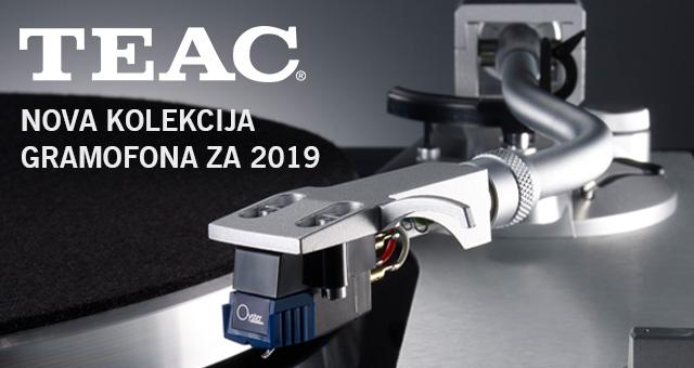TEAC – novi gramofoni za 2019. godinu