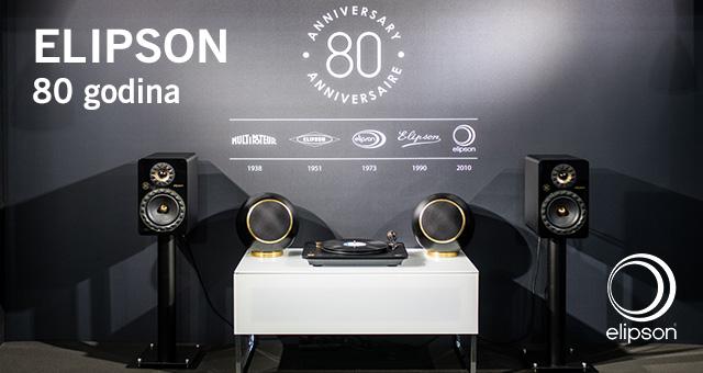 Elipson slavi – proslavite s nama 80 godina strasti za zvukom i glazbom!