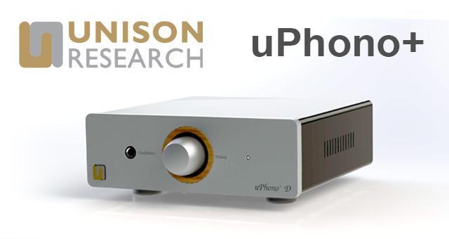 Unison Research uPhono+ – novo multifunkcijsko fono pretpojačalo