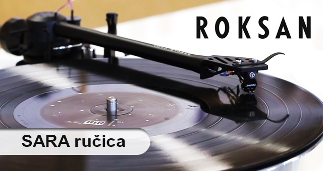 Roksan Sara – nova gramofonska ručica