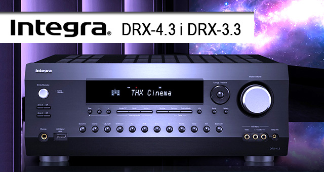 INTEGRA – novi A/V mrežni risiveri DRX-4.3 i DRX-3.3
