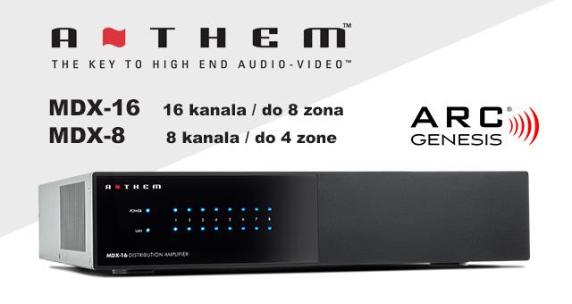 Nova Anthem MDX višezonska (multiroom) pojačala – KONAČNO U PRODAJI