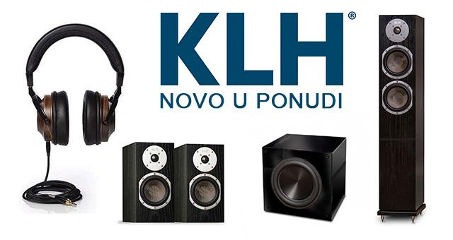 KLH – novo u Audiocinema Art ponudi