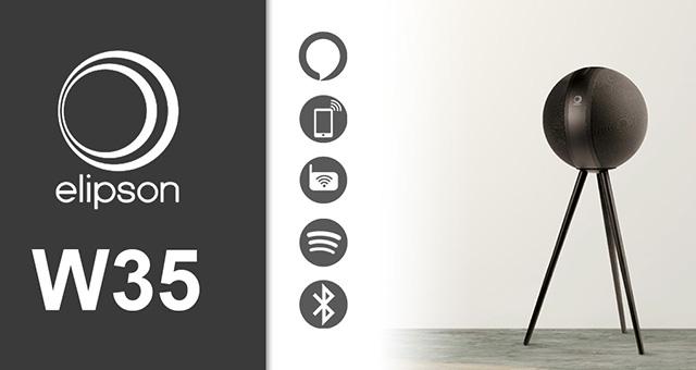 Elipson W35 – bežični, aktivni, stereo bluetooth zvučnik