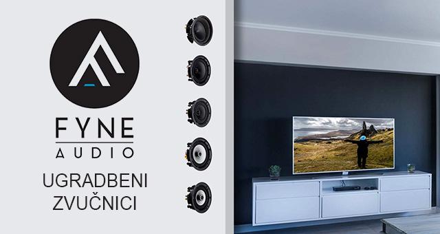 Fyne Audio FA300iC & FA500iC ugradbeni zvučnici