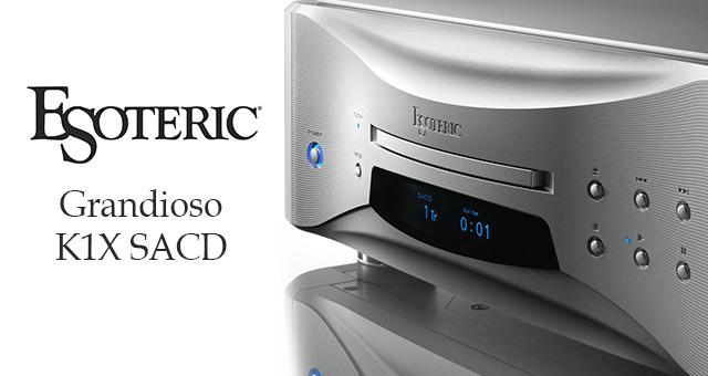 Esoteric Grandioso K1X Super Audio Cd reproduktor