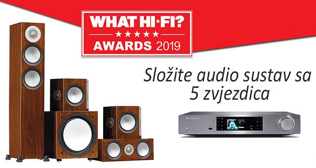 Složite audio sustav sa 5 WHAT HI FI zvjezdica