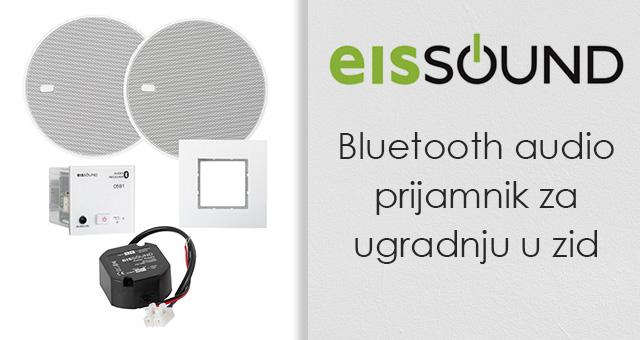 Eissound Bluetooth audio prijamnik za ugradnju u zid