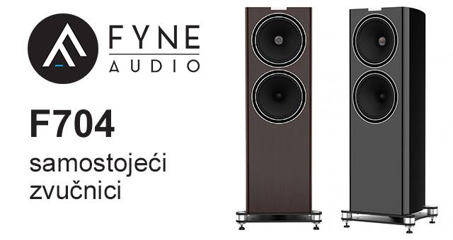 Fyne Audio F704 – novi samostojeći zvučnik