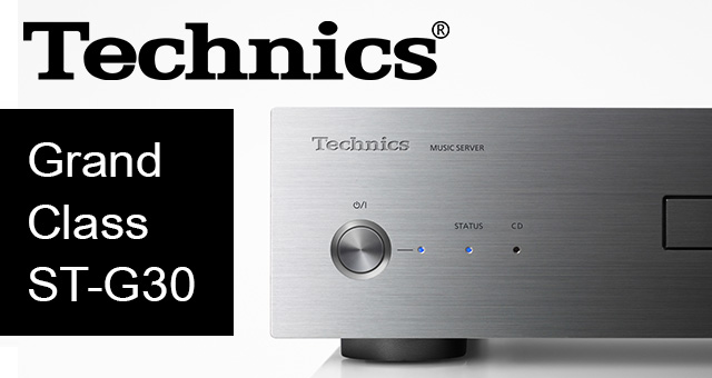 Technics Grand Class ST-G30 glazbeni server (poslužitelj)