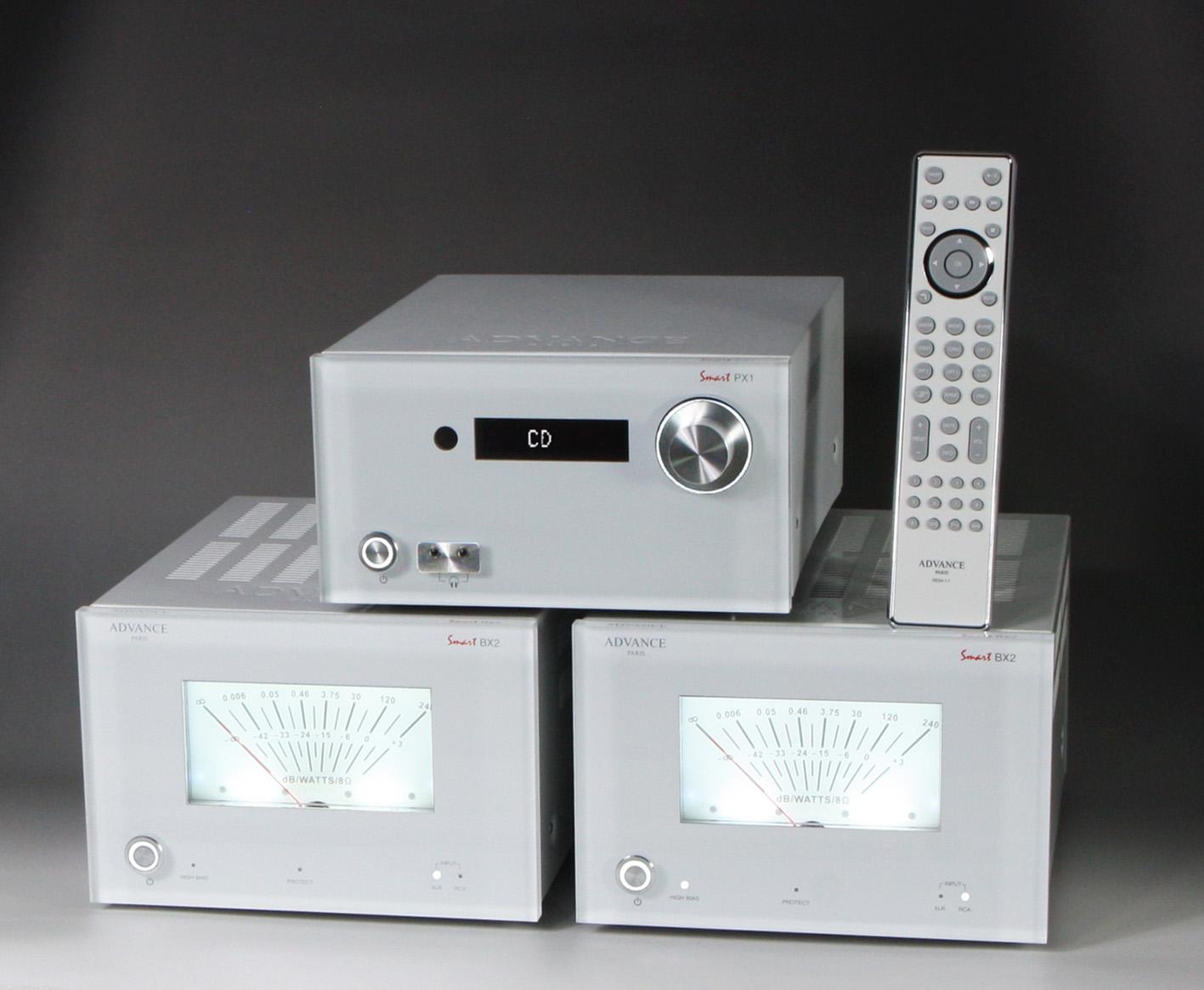 PX1 BX2 White side w remote