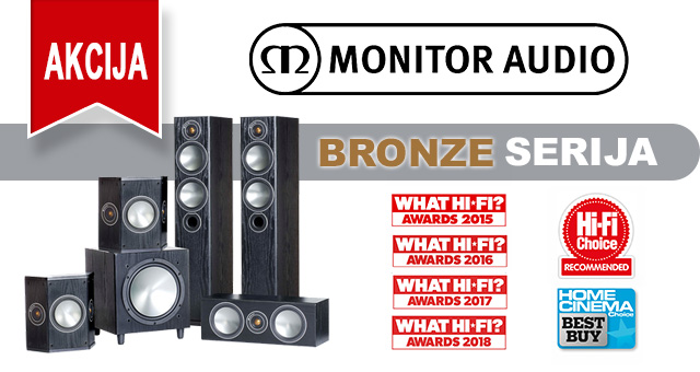 Monitor Audio Bronze AKCIJA