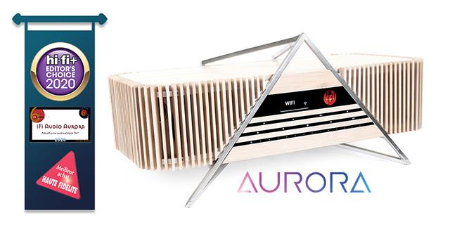 iFi Aurora – sve-u-jednom audio sustav vrhunskog stila i svojstava Pljušte nagrade!