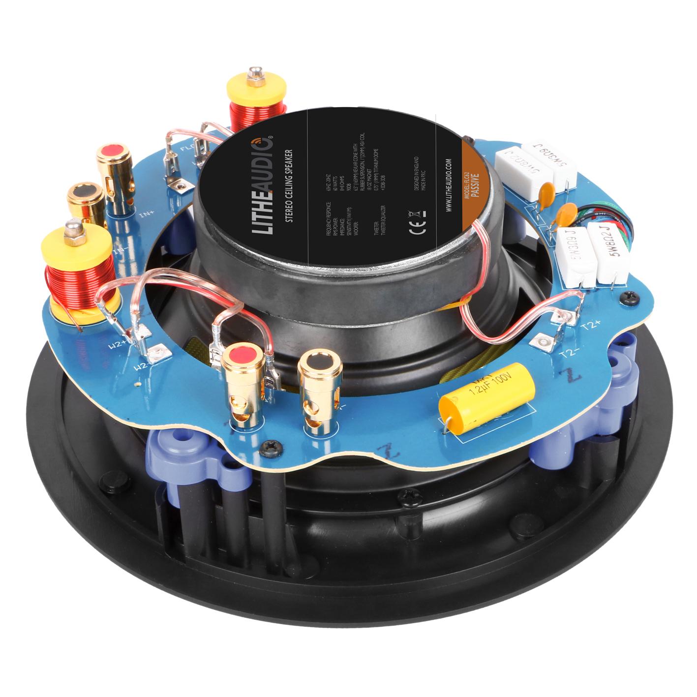 Lithe Audio Stereo Ceiling speaker_back