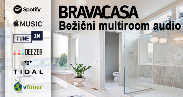 Bežični multiroom audio: do 30 prostorija