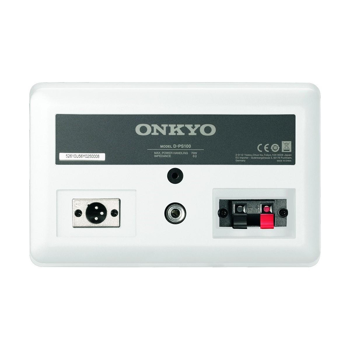 Onkyo d-ps100 bijeli zadnja
