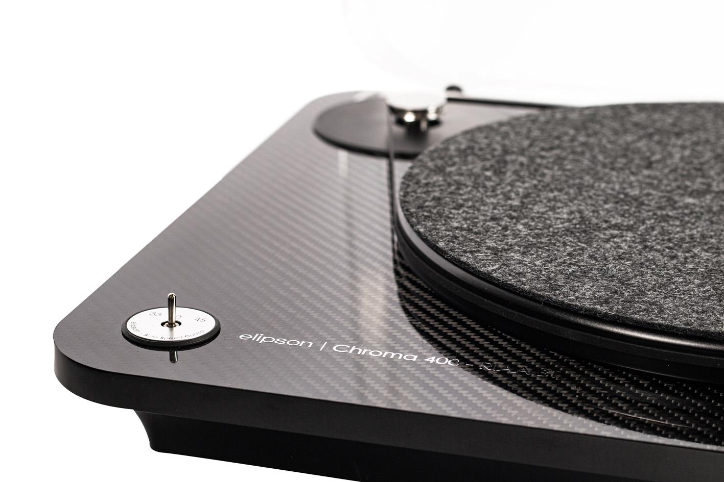brzine Chroma 400 RIAA BT carbon