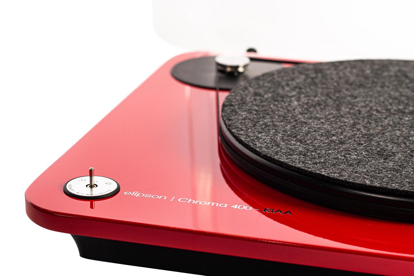 brzine Chroma 400 RIAA crni
