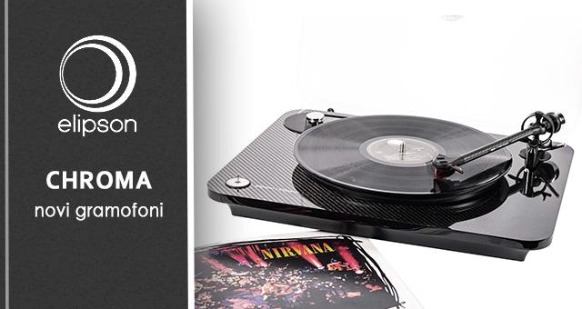 Elipson novi gramofoni – umjesto Α i Ω (Alpha 100 i Omega 100) stiže Chroma