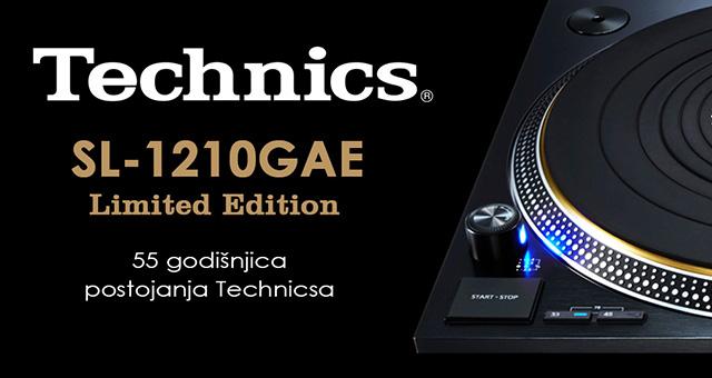 Technics  SL-1210GAE – 55 godišnjica postojanja Technicsa