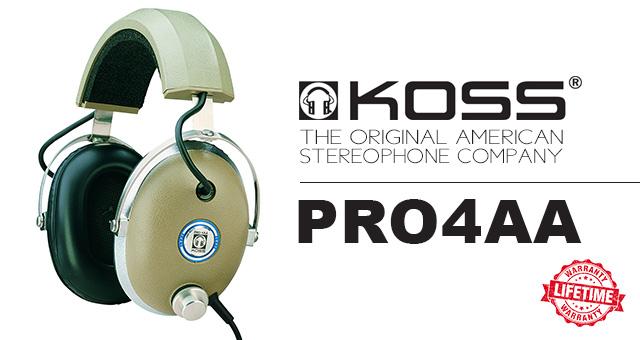 Koss PRO4AA – Novi zaokret legendarnih slušalica